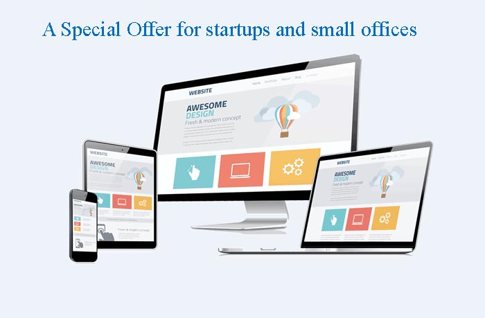 A special offer for startups and small offices